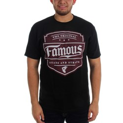 Famous Stars and Straps - Mens Top Notch Mens T-Shirt