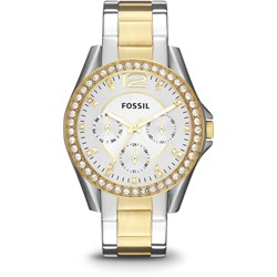 Fossil Riley Two-Tone Stainless Steel Watch ES3204