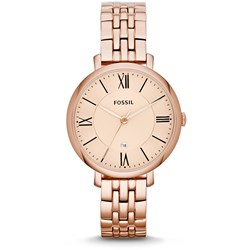 Fossil Jaqueline Rose Gold Stainless Steel Watch ES3435