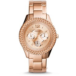 Fossil Stella Rose Gold Stainless Steel Watch ES3590