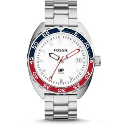 Fossil Breaker Silver Stainless Steel Watch FS5049