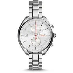Fossil Lane Racer Silver Stainless Steel Watch CH2975