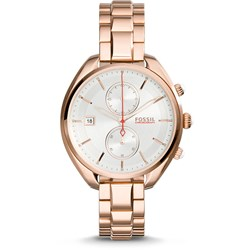 Fossil Land Racer Rose Gold Stainless Steel Watch CH2977