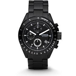 Fossil Decker Black Stainless Steel Watch CH2601