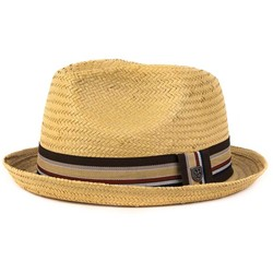 Brixton- Castor Tan Straw Hat