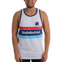 Undefeated - Mens Pista Tank Top
