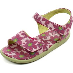 Toms - Tiny Sandals In Pink Daisy