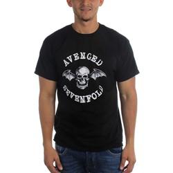 Avenged Sevenfold Classic Deathbat Mens Regular T-Shirt