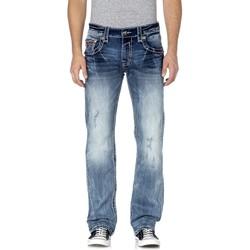 Rock Revival - Mens Leotis Straight Jeans