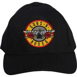 Guns N Roses - Bullet Logo Stretch-Fit Hat In Black