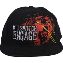 Killswitch Engage - Wolf Baseball Hat In Black