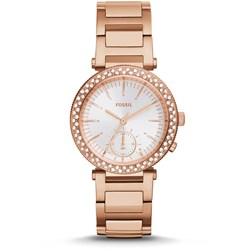 Fossil Watch - Urban Traveler Multifunction Rose-Tone Gold-Tone Stainless Steel Watch ES3851