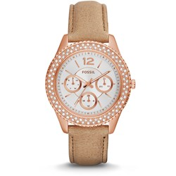 Fossil Watch - Stella Mulitifunction Sand Leather ES3816