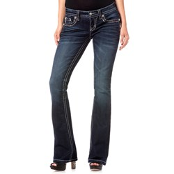 Miss Me - Wicked Stitch Boot Cut Jeans