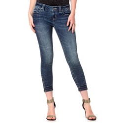 Miss Me - Into The Blue Cropped Skinny Jeans