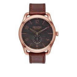 Nixon Men's C45 Leather Analog Watch
