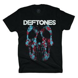 Deftones - Mens Minerva Rose Skull T-Shirt