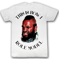 Mr. T - Mens Lexi T-Shirt In White