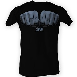 Blues Brothers - Mens Elwood Hand T-Shirt In Black
