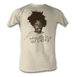Buckwheat - Mens Wtb?! T-Shirt In Dirty White