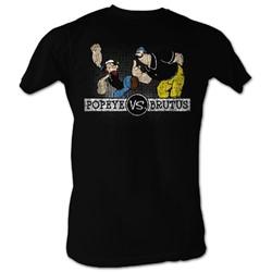 Popeye - Mens Vs2 T-Shirt In Black