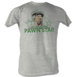 Red Foxx - Mens Pawn Star3 T-Shirt In Gray Heather