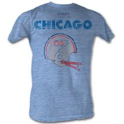 Usfl - Mens Cb T-Shirt In Light Blue Heather