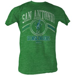Usfl - Mens Gslingers T-Shirt In Kelly Green Heather