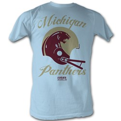 Usfl - Mens Panthers T-Shirt In Light Blue