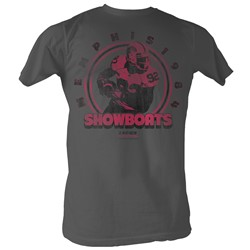 Usfl - Mens The Big Show T-Shirt In Charcoal