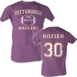 Usfl - Mens Rozier T-Shirt In Neon Purple Heather