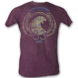 Usfl - Mens 1983 Champions T-Shirt In Triblend Cabernet