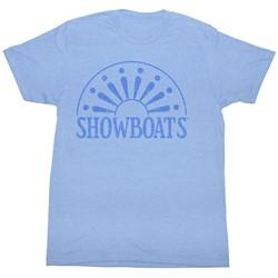 Usfl - Mens Show Jokes T-Shirt In Light Blue Heather