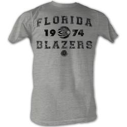 World Football League - Mens Blazin' T-Shirt In Grey Heather