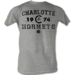 World Football League - Mens Hornets T-Shirt In Grey Heather