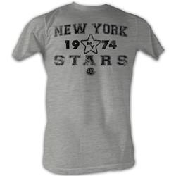 World Football League - Mens Stars T-Shirt In Grey Heather