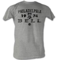 World Football League - Mens T Bell T-Shirt In Grey Heather