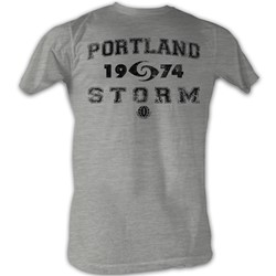 World Football League - Mens P Storm T-Shirt In Grey Heather