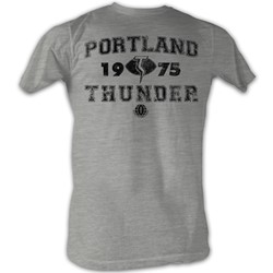World Football League - Mens Thunder T-Shirt In Grey Heather