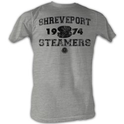 World Football League - Mens Steamers T-Shirt In Grey Heather
