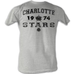 World Football League - Mens C Stars T-Shirt In Grey Heather