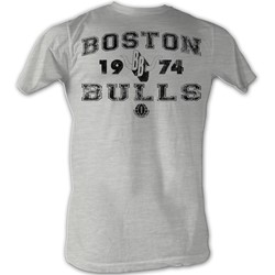 World Football League - Mens B Bulls T-Shirt In Grey Heather