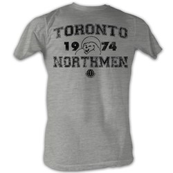 World Football League - Mens T Da North T-Shirt In Grey Heather