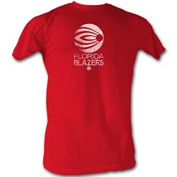 World Football League - Mens Blazers White T-Shirt In Red
