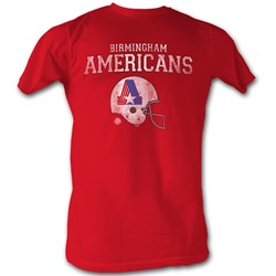 World Football League - Mens Americans T-Shirt In Red