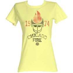 World Football League - Womens Chicago Fire T-Shirt In Yellow