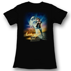 Back To The Future - Womens Btf Poster T-Shirt