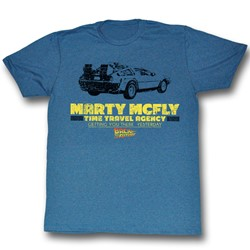 Back To The Future - Mens Time In A Car T-Shirt