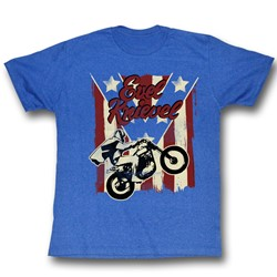 Evel Knievel - Mens Spangled T-Shirt