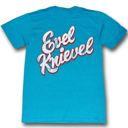 Evel Knievel - Mens Bright T-Shirt